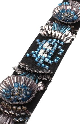 Ремень для сумки Space Invaders Anya Hindmarch черного цвета | Фото №1