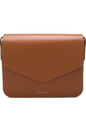 Сумка Envelope Mansur Gavriel коричневая цвета   Фото №1