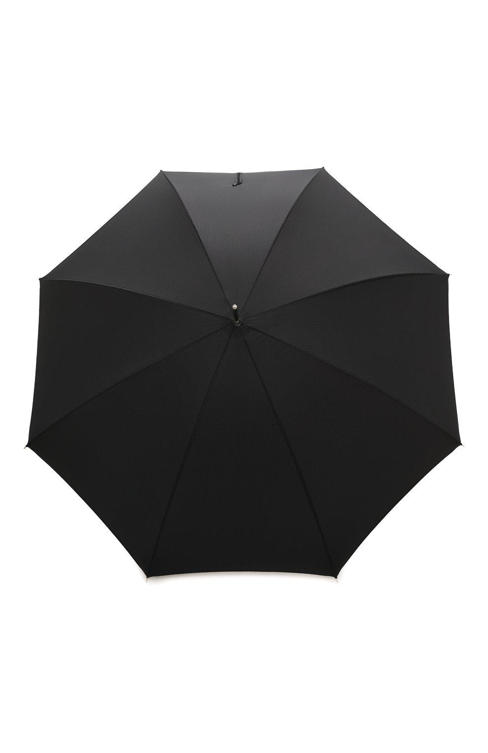 Мужской зонт-трость PASOTTI OMBRELLI черного цвета, арт. 478/NIAGARA 7079/8/N37   Фото 1