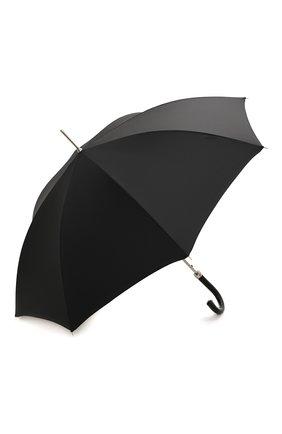 Мужской зонт-трость PASOTTI OMBRELLI черного цвета, арт. 478/NIAGARA 7079/8/N37 | Фото 2
