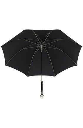 Мужской зонт-трость PASOTTI OMBRELLI черного цвета, арт. 478/RAS0 6434/19/W27 | Фото 3