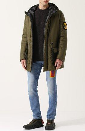 Пуловер из шерсти тонкой вязки Howlin темно-серый | Фото №1
