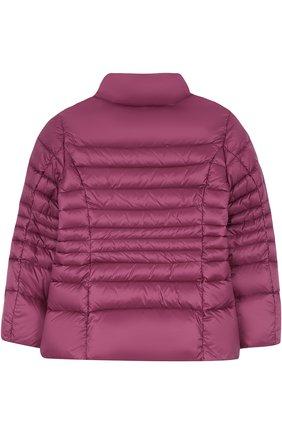 Детского пуховая куртка FAY JUNIOR бордового цвета, арт. NBQ32358020 | Фото 2