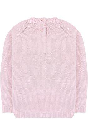 Шерстяной свитер с декором   Фото №2