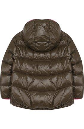 Пуховая куртка с капюшоном | Фото №2
