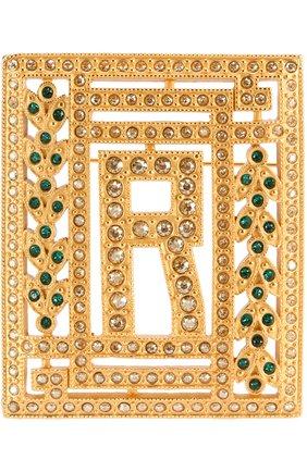 Брошь с отделкой из кристаллов Swarovski | Фото №1