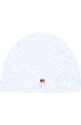 Хлопковая шапка с вышивкой   Фото №1