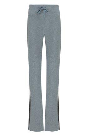 Расклешенные брюки с контрастными лампасами | Фото №1