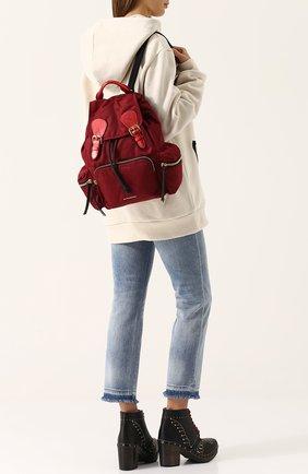 Рюкзак Rucksack с кожаной отделкой | Фото №2