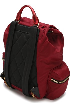 Рюкзак Rucksack с кожаной отделкой | Фото №3