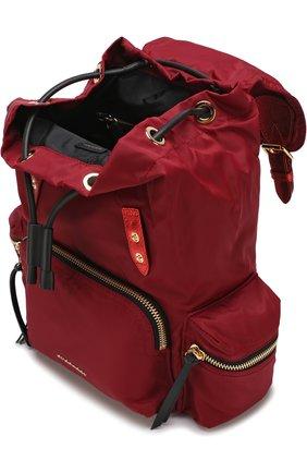 Рюкзак Rucksack с кожаной отделкой | Фото №4