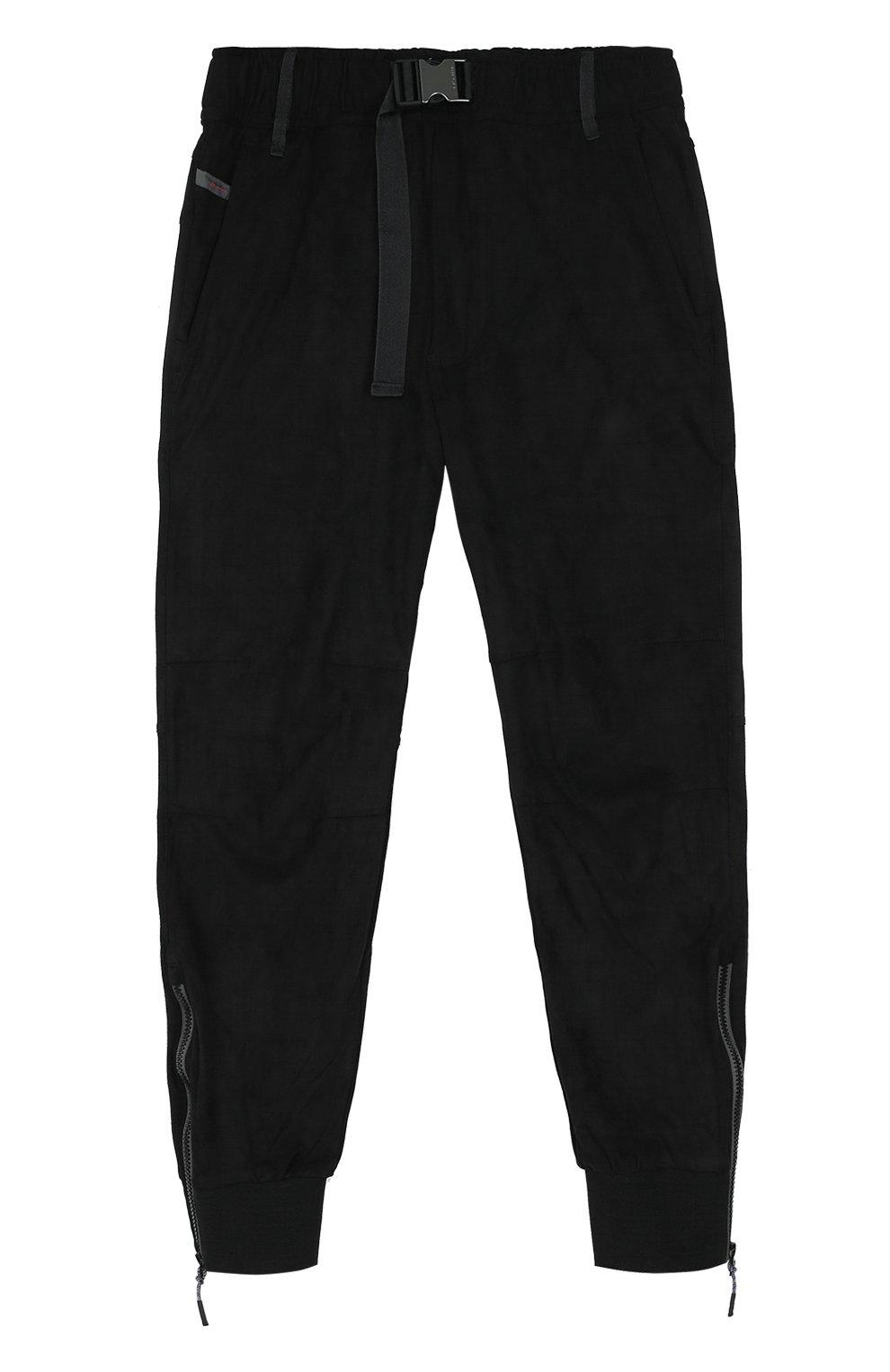 Укороченные брюки прямого кроя с манжетами   Фото №1