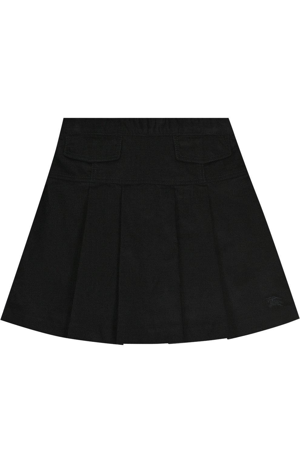Хлопковая юбка с защипами | Фото №1