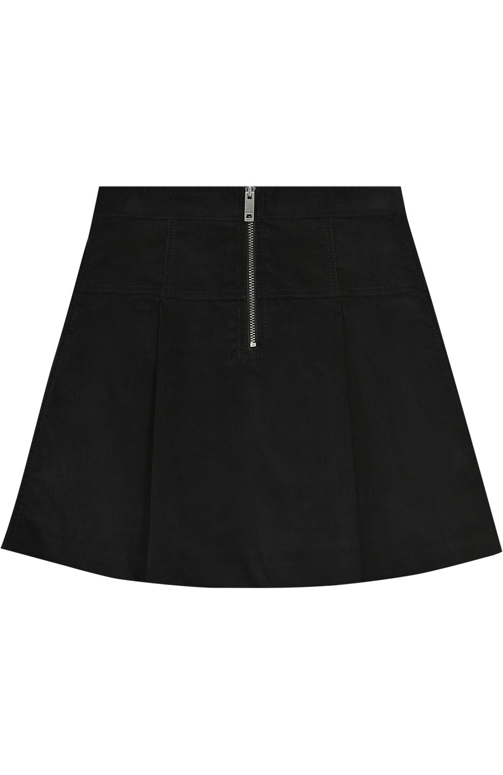 Хлопковая юбка с защипами | Фото №2