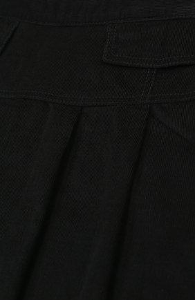 Хлопковая юбка с защипами | Фото №3