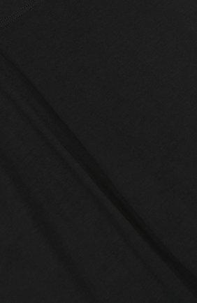Детские леггинсы с кружевной отделкой Twinset черного цвета | Фото №3