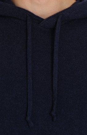 Кашемировое худи тонкой вязки | Фото №5