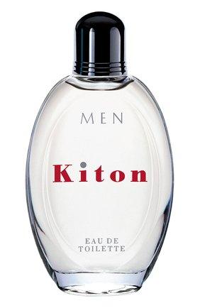 Мужской туалетная вода men kiton KITON бесцветного цвета, арт. 258M-01 | Фото 1