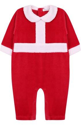 Хлопковая пижама в новогоднем стиле | Фото №1