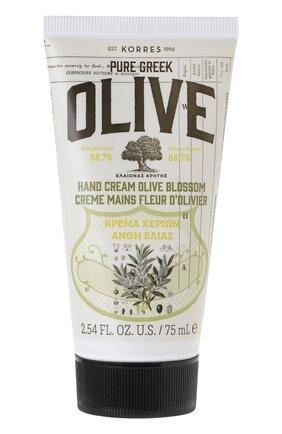 Крем для рук цветы с оливой Korres | Фото №1