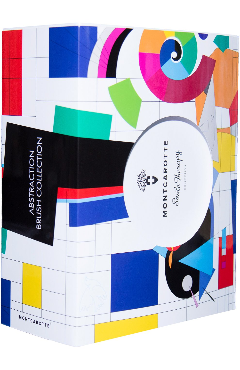 Женское набор подарочный зубных кистей abstraction brush collection MONTCAROTTE бесцветного цвета, арт. МС406 | Фото 1