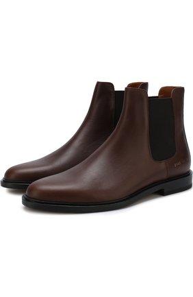 Классические кожаные челси Common Projects коричневые | Фото №1