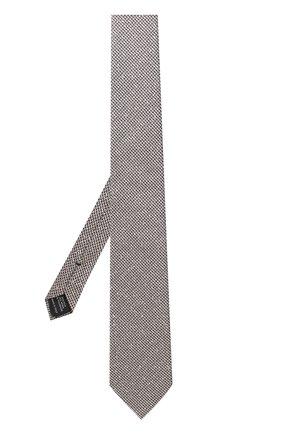 Мужской галстук из смеси шелка и шерсти TOM FORD темно-бежевого цвета, арт. 2TF15/XTF | Фото 2