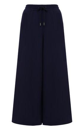 Хлопковые широкие брюки с разрезами | Фото №1