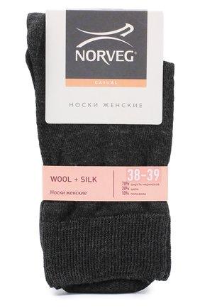Носки из смеси шерсти и шелка | Фото №1