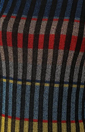 Вязаное платье-макси с длинным рукавом | Фото №5