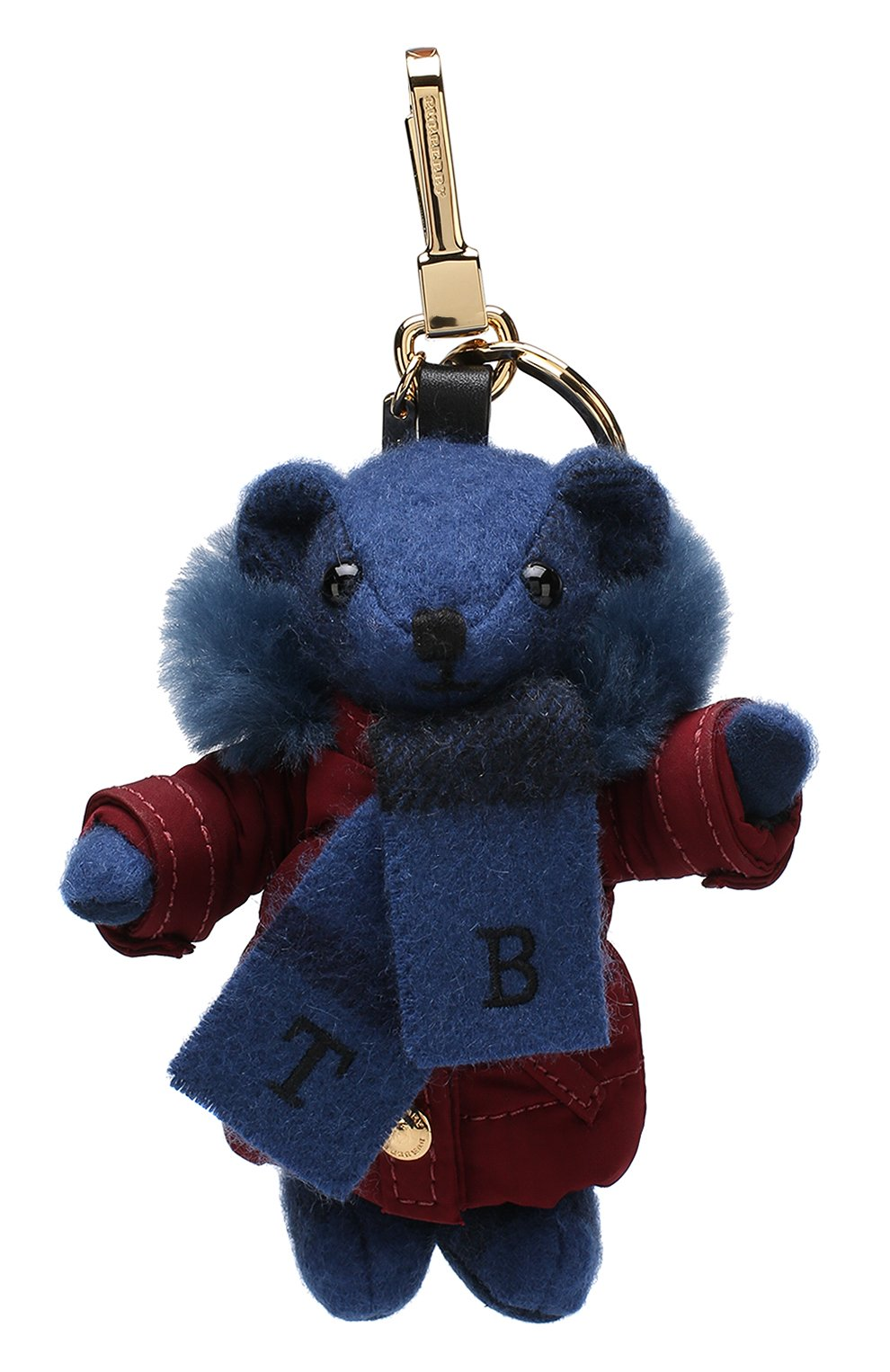 Брелок Thomas Bear в куртке с шарфом | Фото №1
