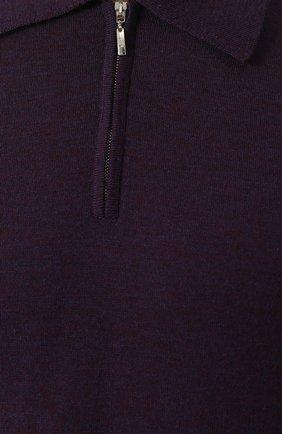 Шерстяное поло с длинными рукавами | Фото №5