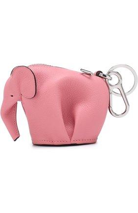 Кожаный брелок Elephant | Фото №1