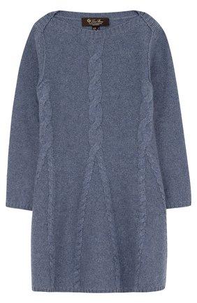 Кашемировое платье с фактурным узором | Фото №1