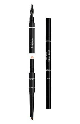 Моделирующий карандаш для бровей 3 в 1 | Фото №1
