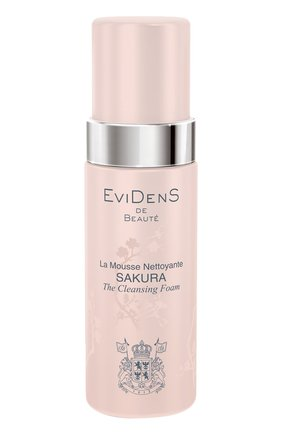 Очищающий мусс для сохранения молодости кожи Sakura EviDenS de Beaute | Фото №1