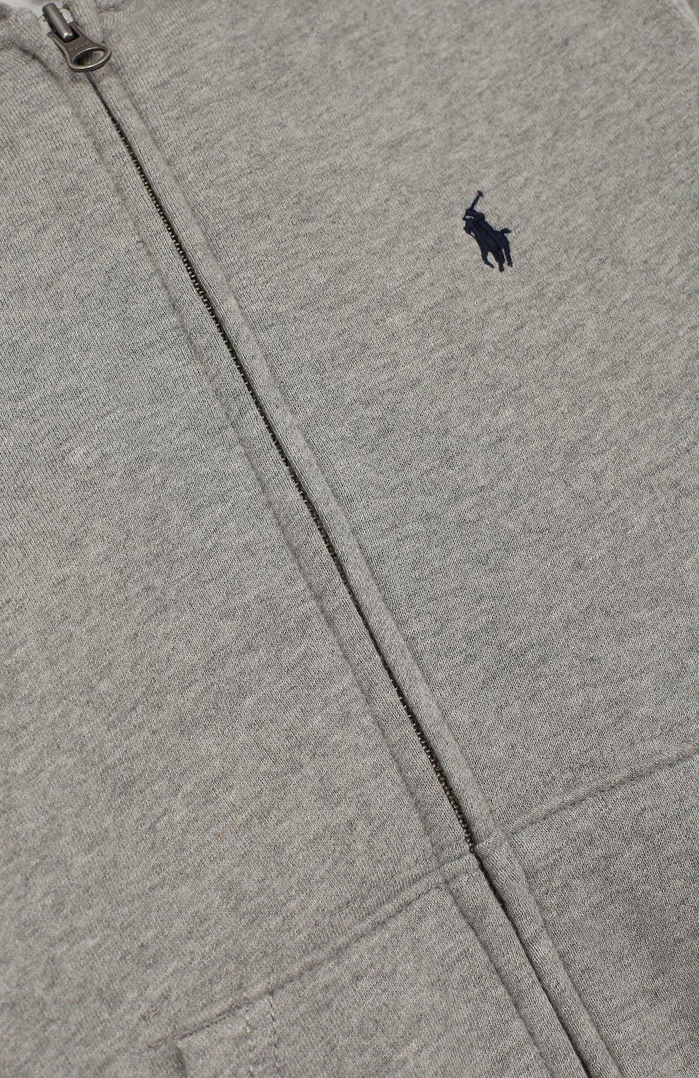 Спортивный кардиган с капюшоном | Фото №3