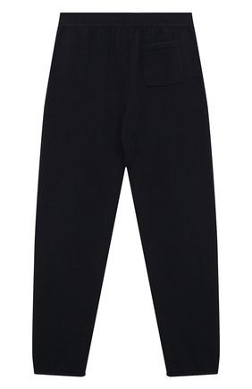Детского кашемировые брюки LORO PIANA темно-синего цвета, арт. FAG4728   Фото 2