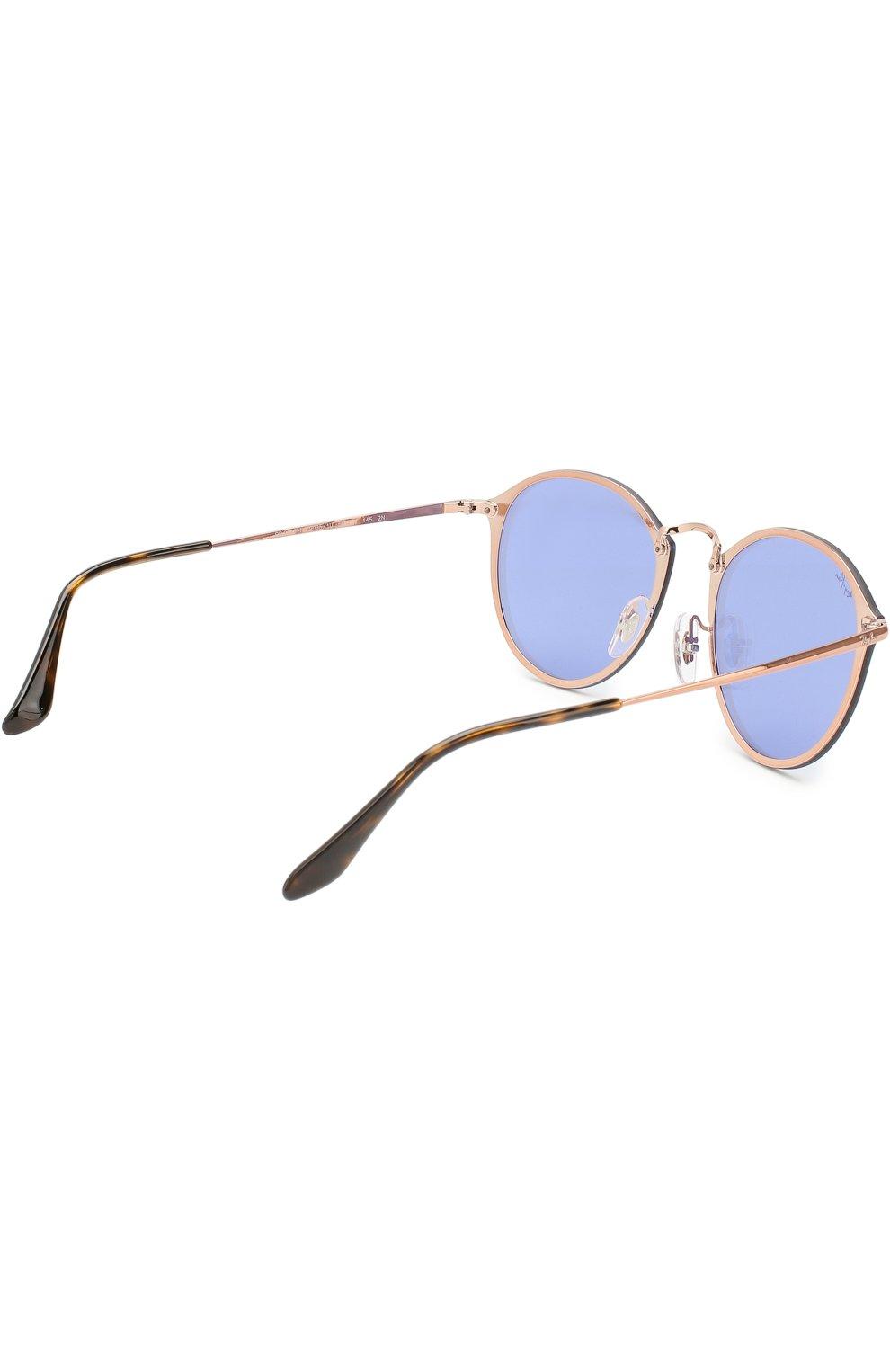 Солнцезащитные очки Ray-Ban голубые | Фото №2