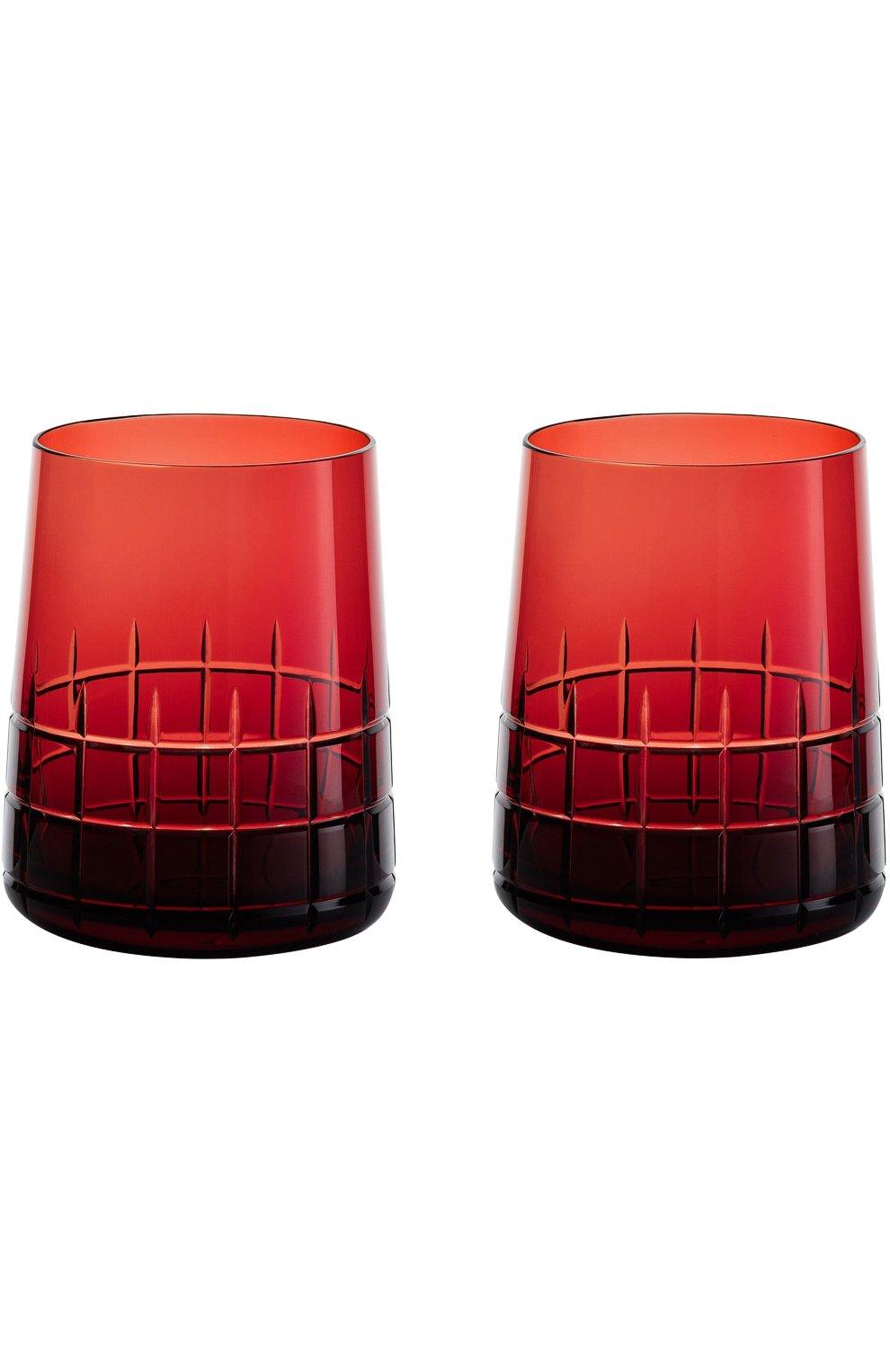 Мужского набор из двух стаканов graphik CHRISTOFLE красного цвета, арт. 07946150   Фото 1