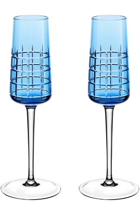 Набор из двух фужеров для шампанского Graphik | Фото №1