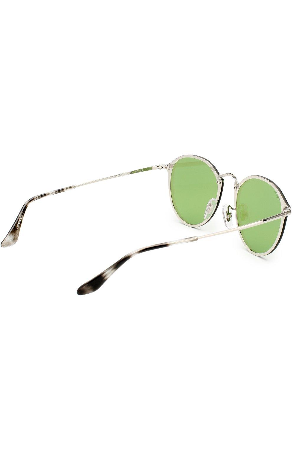 Солнцезащитные очки Ray-Ban мятные | Фото №2