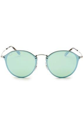 Солнцезащитные очки Ray-Ban мятные | Фото №3