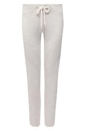Женские брюки из смеси вискозы и хлопка MONROW светло-серого цвета, арт. HB006AFT | Фото 1