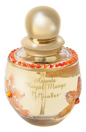 Парфюмерная вода royal mango M. MICALLEF бесцветного цвета, арт. 3760231054100   Фото 1 (Статус проверки: Проверена категория; Ограничения доставки: flammable)
