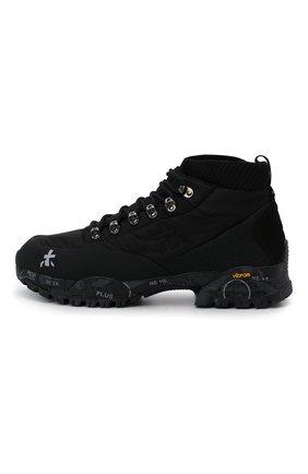 Мужские комбинированные ботинки loutreck PREMIATA черного цвета, арт. L0UTRECK/VAR113 | Фото 3