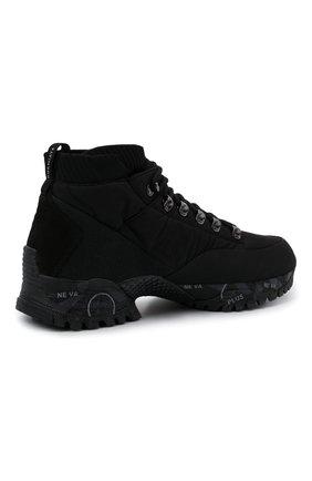 Мужские комбинированные ботинки loutreck PREMIATA черного цвета, арт. L0UTRECK/VAR113 | Фото 4