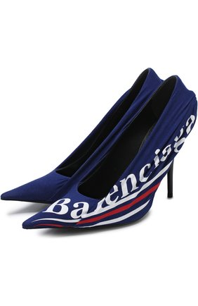 Текстильные туфли Knife с логотипом бренда | Фото №1