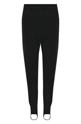 Однотонные брюки со штрипками A.F.Vandevorst черные | Фото №1