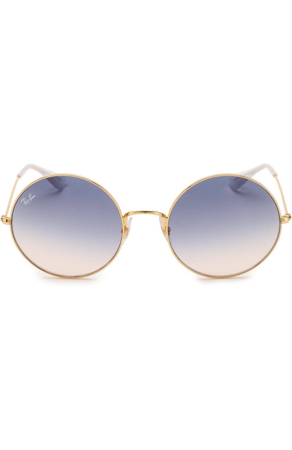 Женские солнцезащитные очки RAY-BAN золотого цвета, арт. 3592-001/I9 | Фото 2